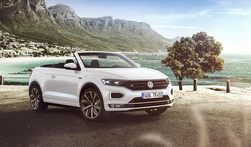 Франкфурт 2019: Volkswagen представит кроссовер кабриолет T-Roc