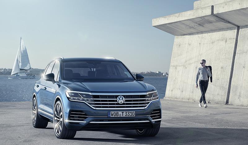 Volkswagen расширил набор стандартного и опционального оборудования для Touareg