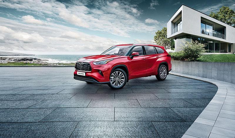 Toyota:Новый Highlander доступен у заказу