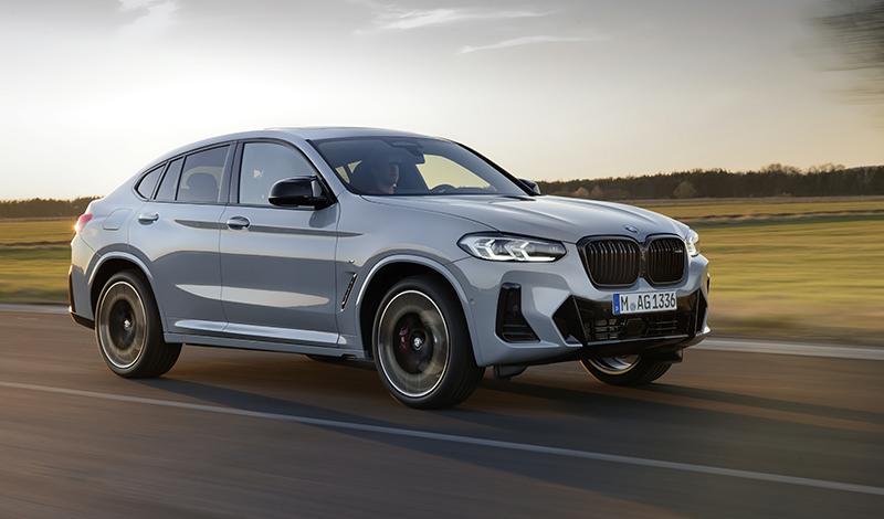Представлен обновленный BMW X4