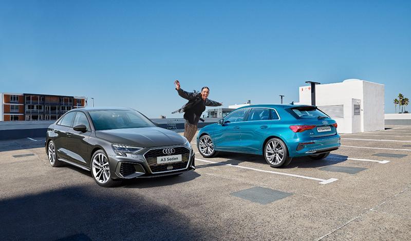 Стартовали продажи Audi A3 Sedan и Audi A3 Sportback с лимитированной серии Young&Drive