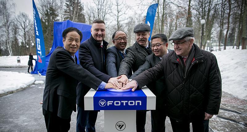 FOTON:В Росиии стартовали продажи седельного тягача Foton Auman EST A