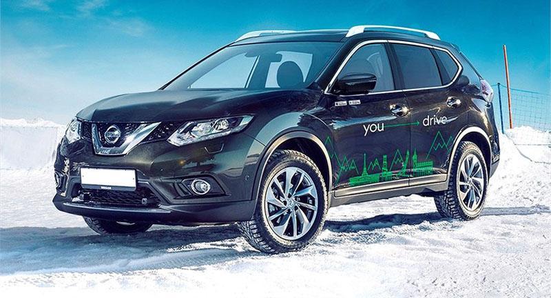 Nissan объявил о сотрудничестве с Кашкеринг YouDrive