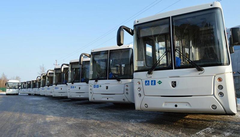 В Свердловскую область поставили партию полунизкопольных автобусов НЕФАЗ