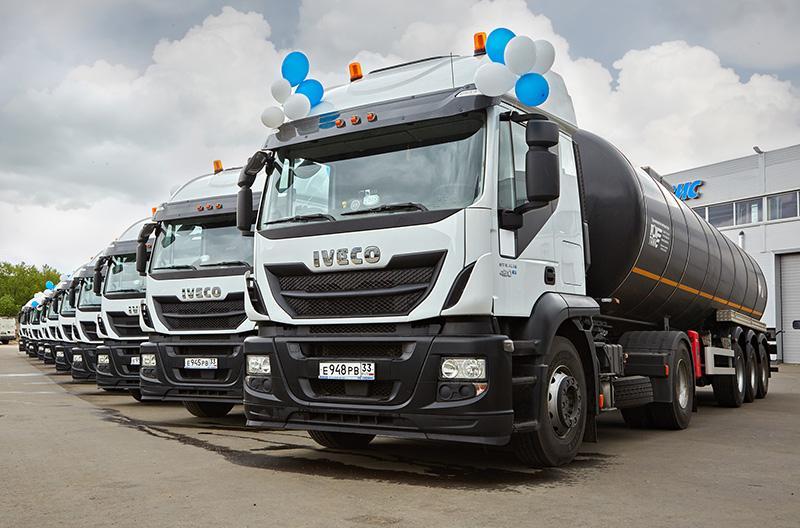 IVECO:ООО «Крокус» пополнил автопарк седельными тягачами IVECO Stralis
