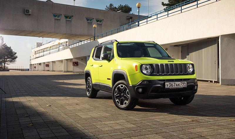 Jeep:Jeep Renegade представлен в новой комплектации Trailhawk