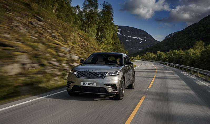 Land Rover:В России представлен новый Range Rover Velar