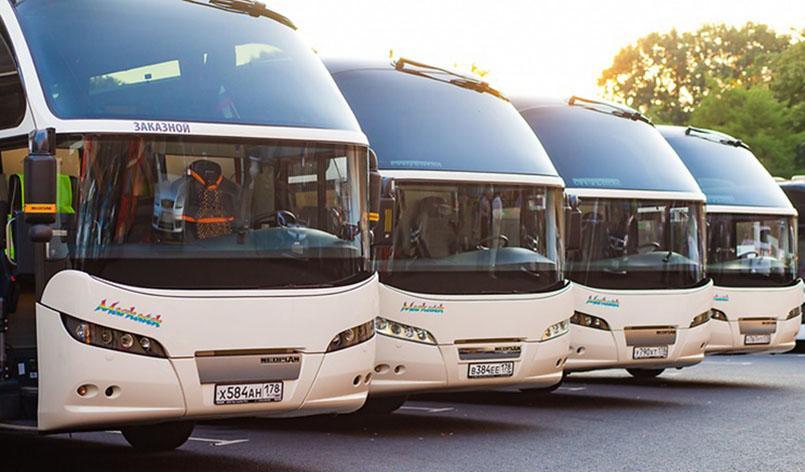 Туристические автобусы VIP-класса Neoplan Cityliner – станут главными участниками события ЧМ-2018