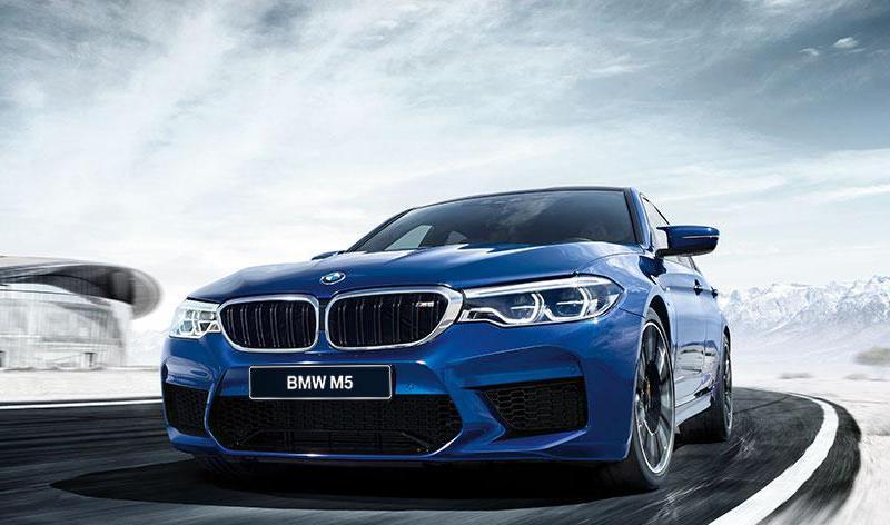 Компания BMW Group Россия объявляет цены на новый BMW M5