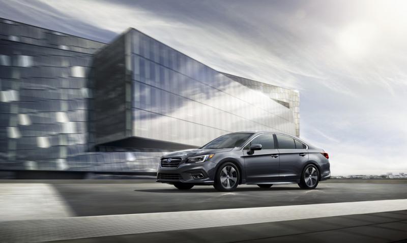 Седан бизнес-класса Subaru Legacy возвращается в Россию