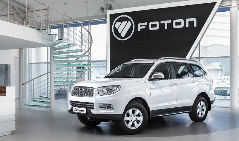 FOTON:Foton Motor выпустила на российский рынок в 2018 году компактвэна Gratour и внедорожника Foton Sauvana