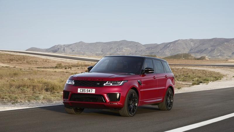 Land Rover:Компания Jaguar Land Rover Россия анонсировала цены на обновленные модели Range Rover и Range Rover Sport 2018 года