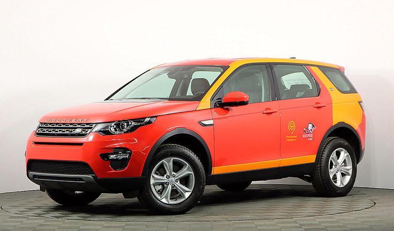 Автопарк каршеринга Матрёш Car пополнился Land Rover Discovery Sport 2019 модельного года