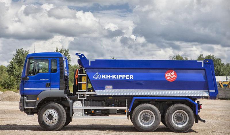 MAN:Компания MAN и KH-KIPPER представляют новый самосвал TGS 40.400 6x4 BB-WW с классическим прямоугольным кузовом