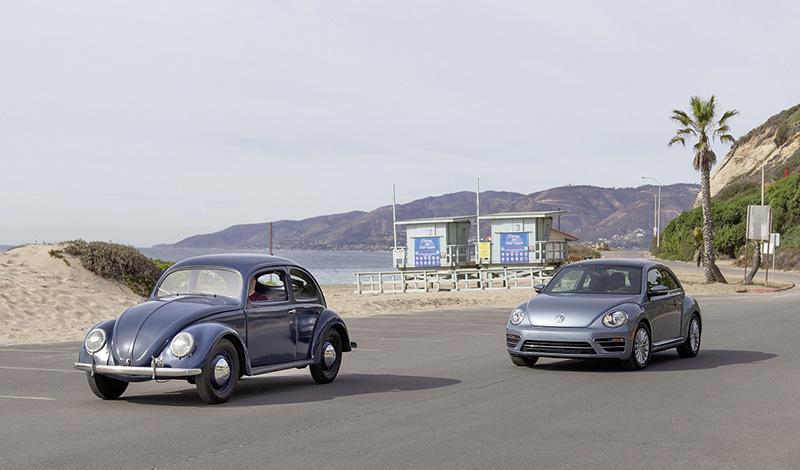 Эксклюзивные версии Beetle и Beetle Cabriolet были представлены на автосалоне в Лос-Анджелес