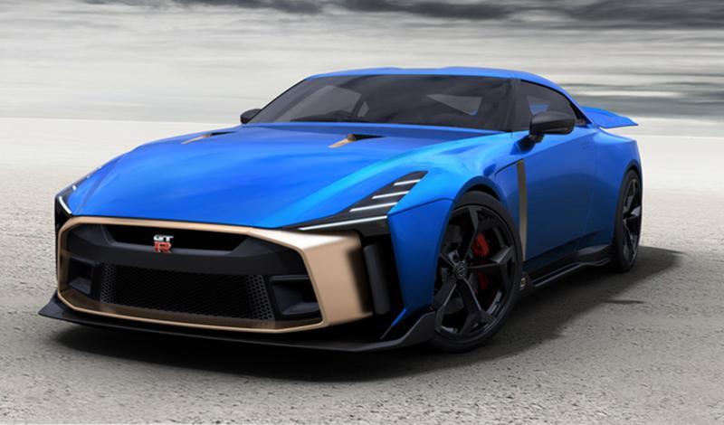 От 990 000 евро за юбилейный GT-R50 от Italdesign