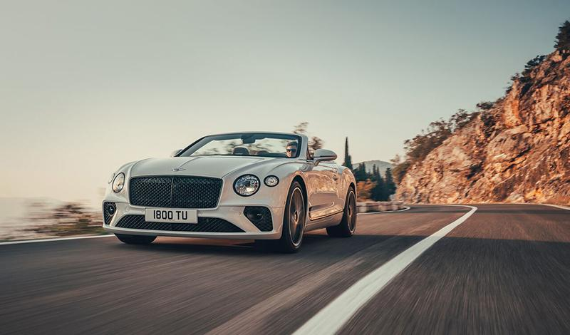 Bentley представляет третье поколение Continental GT Convertible
