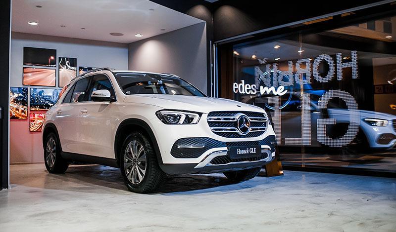 В ТРК Vegas Крокус Сити прошел закрытый предпоказ нового Mercedes-Benz GLE 2019 года