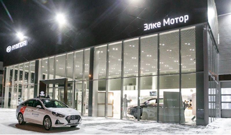 В Томске прошло открытие нового здания дилерского центра Hyundai
