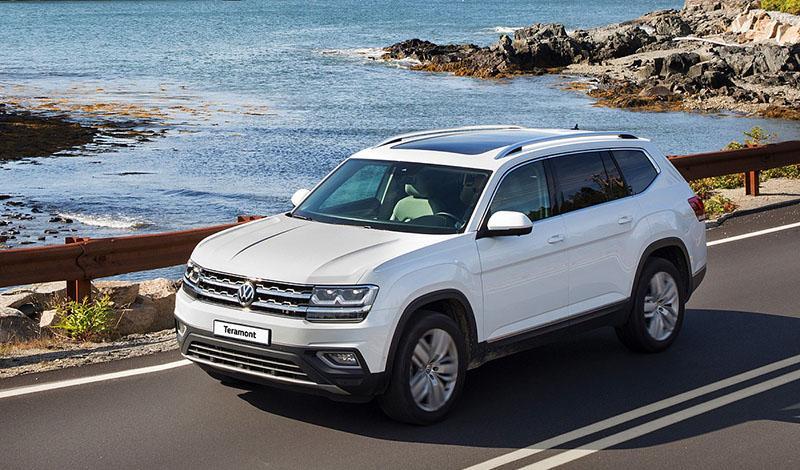 Volkswagen предлагает новые опции для Teramont
