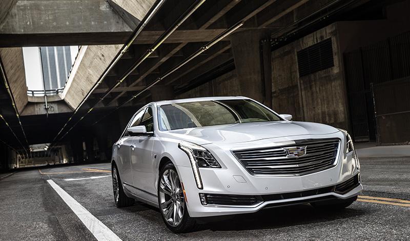 Новый седан представительского класса Cadillac CT6 в России