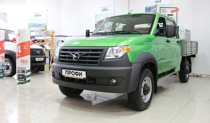 УАЗ представил обновленный лёгковой коммерческий автомобиль УАЗ Профи