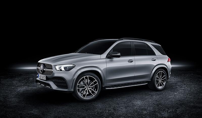 На новый Mercedes-Benz GLE открыт предзаказ