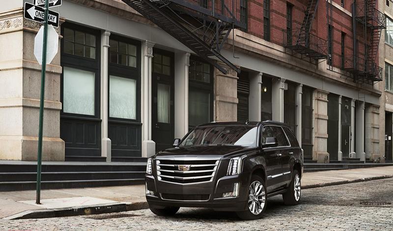 Cadillac представил обновленный Escalade