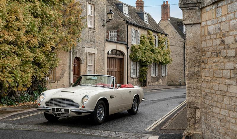 Aston Martin внедряет компоненты электрической силовой установки для классических моделей