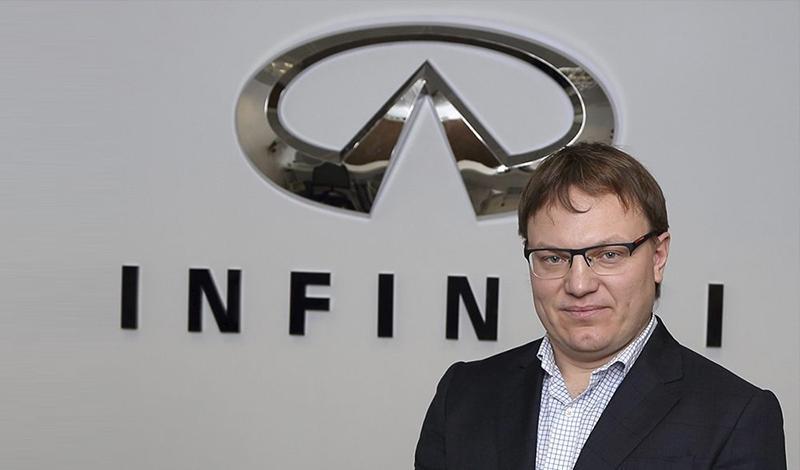 На Российском рынке INFINITI назначила нового управляющего директора