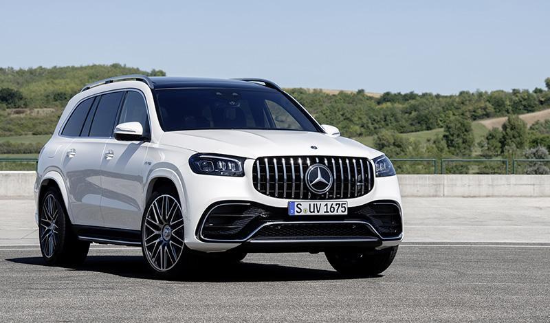 Mercedes-Benz:Представлен GLS 63 4MATIC+