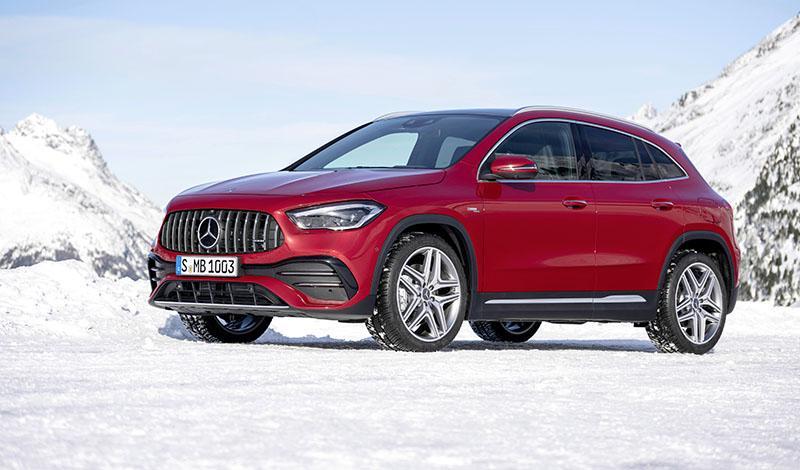Mercedes-Benz:Мерседес представил AMG GLA 35 2020 года
