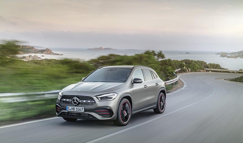 Mercedes GLA 2020 официально представлен
