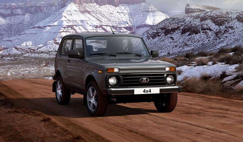 LADA:Lada 4x4 получила обновленный интерьер