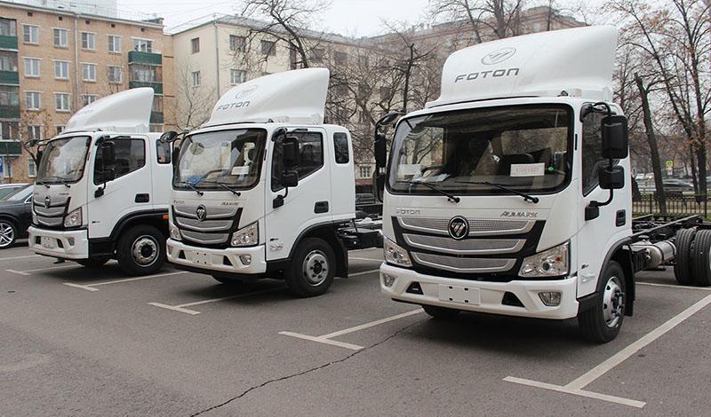 В России стартовали продажи нового модельного ряда Foton S