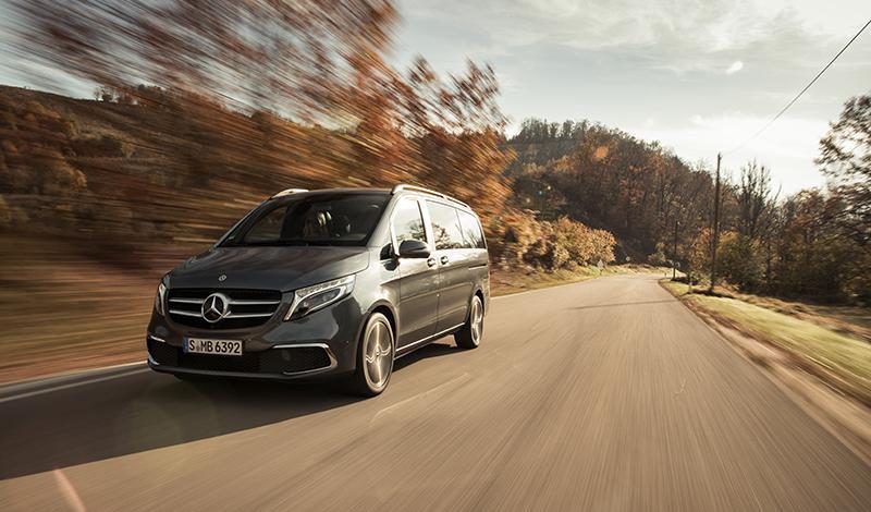 Весной 2020 года Mercedes V-Класса получит MBUX