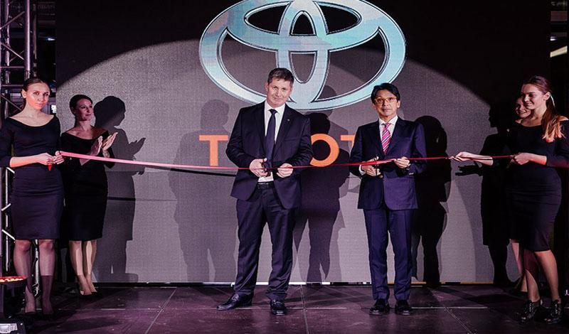 Toyota:Тойота Центр Южно-Сахалинск  - самый восточный в России дилерский центр Тойота