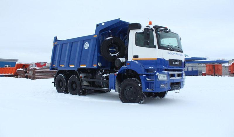 Разработан самосвальный кузов для шасси КАМАЗ-65802 и КАМАЗ-6580