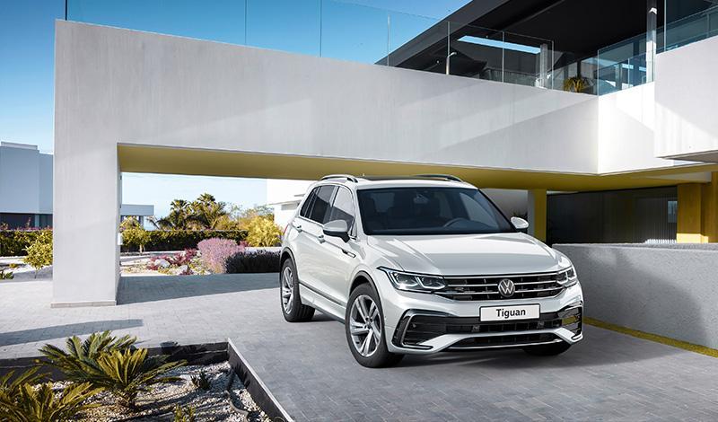 Обновленный Volkswagen Tiguan 2021 получил цены для российского рынка