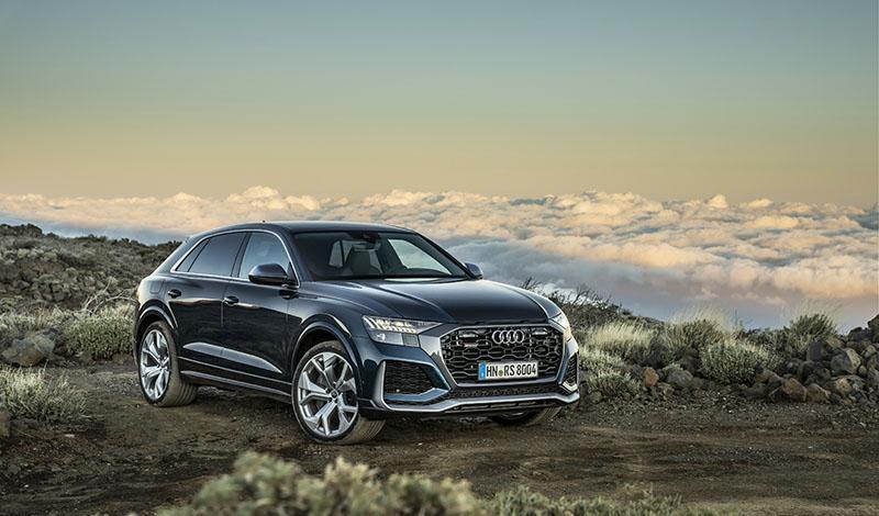 В России доступны к заказу: Audi RS Q8 2020, Audi RS 6 Avant 2020 и Audi RS 7 Sportback 2020