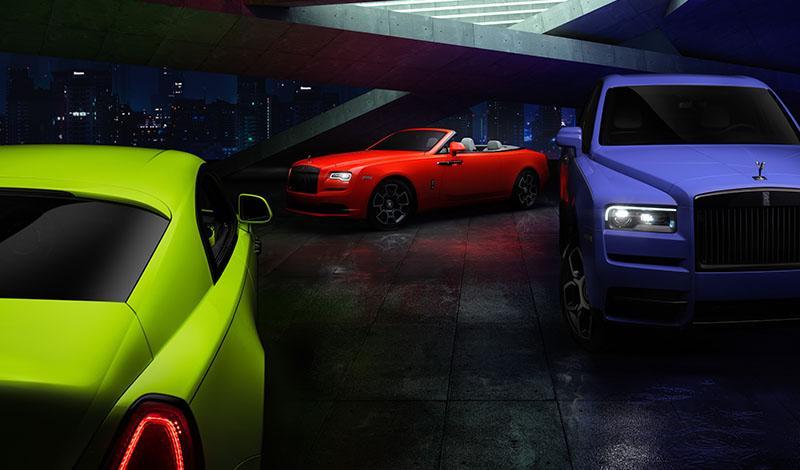 Rolls-Royce:Только три экземпляра Black Badge в эксклюзивных цветах доступно на российском рынке
