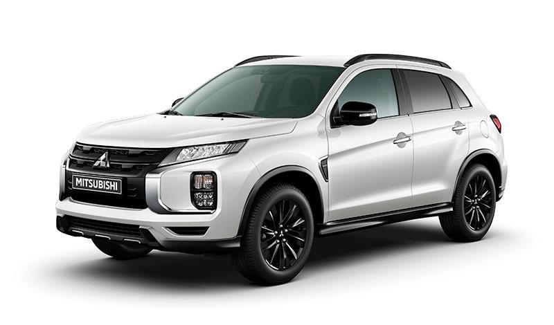 Обновленный Mitsubishi ASX получил ограниченную комплектацию Black Edition