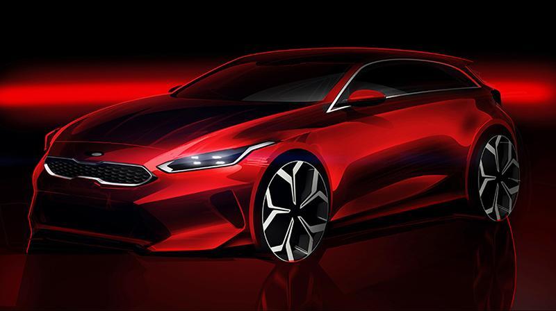Новое поколение KIA Ceed будет представлено на Женевском автосалоне 2018 года