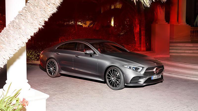 Новый седан CLS от Mercedes-Benz