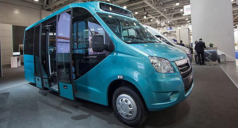 GAZ:На выставке COMTRANS/17 группа ГАЗ представила новый электробус «ГАЗель NEXT»