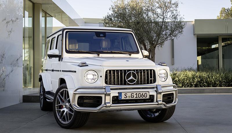 Mercedes-Benz представляет новый AMG G 63
