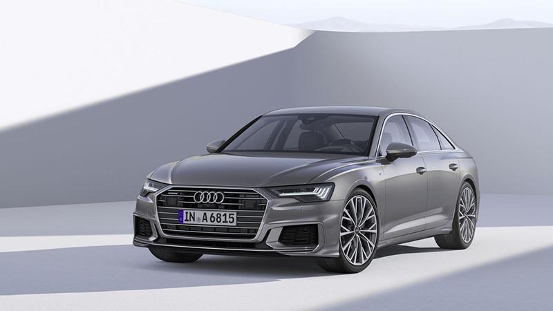 Audi представила новый бизнес-седан A6 2018 года