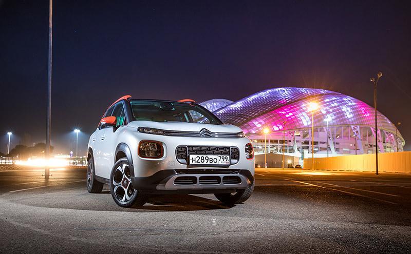 Компания Citroën объявила о старте продажи нового компактного кроссовера C3 Aircross в России