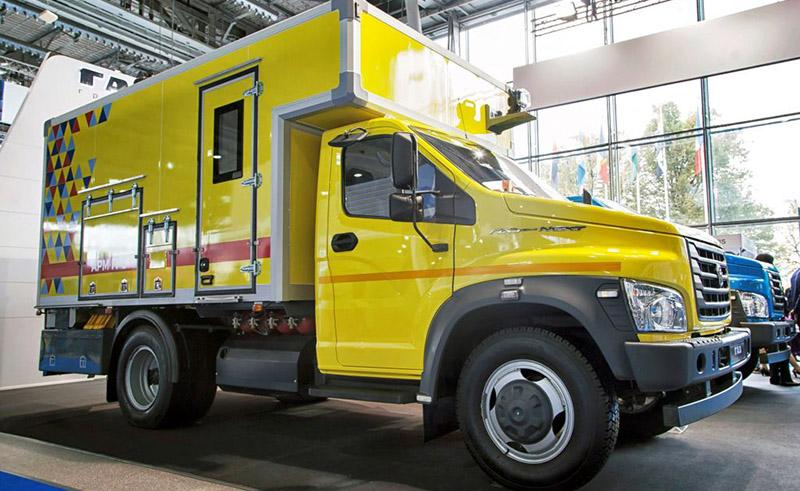 GAZ:«Группа ГАЗ» представила «ГАЗон NEXT CNG» с двигателями на сжатом природном газе