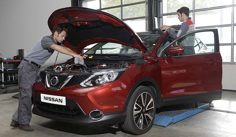 Nissan расширяет действие программы «Сервисный контракт»